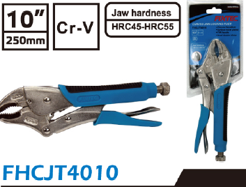 Curved jaw lock plier FHCJT4010