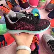 Большой Студенческий Продажи Тканые Спортивные Кроссовки Обувь
