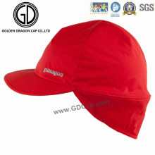 2016 High Quality Waterproof Polyester Earflap Cap / Sports Racing Cap