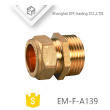 ЭМ-Ф-Пг139 равные прямые латунь быстрое соединение адаптер трубы штуцер