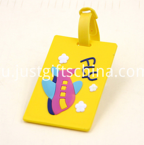 Promotional PVC Printing Luggage Tags 1