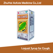Jarabe de níspero para la tos