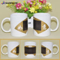 Direct Manufacturer 11oz Magic white mug with fan color changing