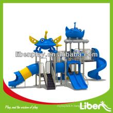 Dream Sky Series aire de jeux pour enfants LE.XK.015 toboggan de loisirs, structure de terrain de jeux extérieure