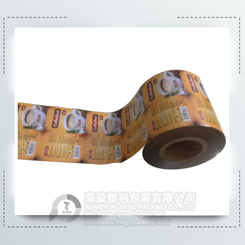 Printed Laminated Coffee Roll Film