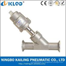 Enrosque la válvula de desagüe conexión 2 ángulo, cuerpo de válvula de acero inoxidable, tipo del pistón, KLJZF-20SS
