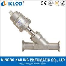 thread connection 2 angle drain valve, stainless steel valve body, piston type, KLJZF-20SS