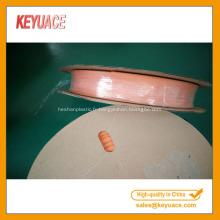 Tube en plastique à paroi mince thermorétractable orange