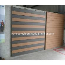 Painel de parede composto de plástico de madeira