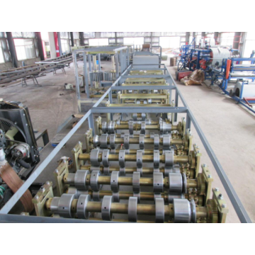 Colorful Roof Cold Large span roll forming machine