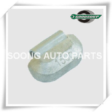Uncoated or Coated Lead(PB) Clip on Wheel weights for heavy truck, Universal type, Super Quality