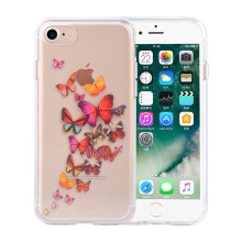Transparenter Schmetterlings-schneller Sand IMD Iphone6 ​​Fall