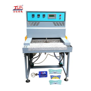 Intelligent power saving pvc oven machine