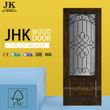 JHK Modern Wood Door Solid Wooden Door Decorative Wood Panel And Doors
