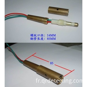 temperature oxygen contact block