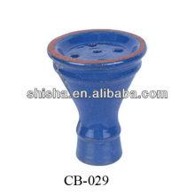 Hokah chicha bacia cerâmica el-badia chicha tigela de argil