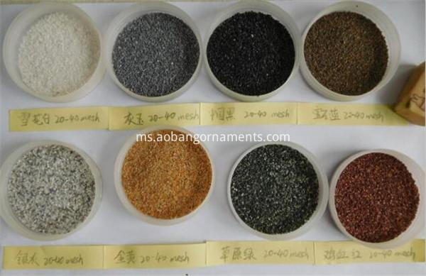 Natural color reptile sand