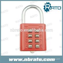 RP-155 number push button padlock