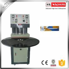 Machine de cachetage de boursouflure de machine à emballer de boursouflure de carte de papier de rendement élevé mini pour des baguettes