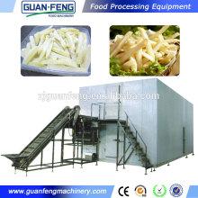 automatic potato chips making machine food processing line