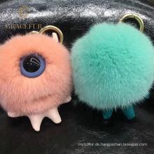 Ausgezeichnete Qualität flauschige Nerz Keychain Ball