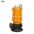 3 Phase sewage 7.5hp submersible pump