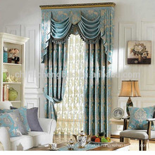 China Supplier Ready Made Jaquard Blackout Window Curtain