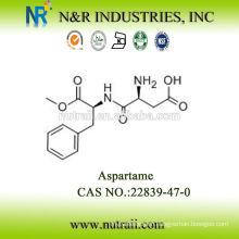 bulk aspartame sweetener CAS #22839-47-0