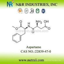 Подсластитель аспартама для сыпучих продуктов CAS # 22839-47-0