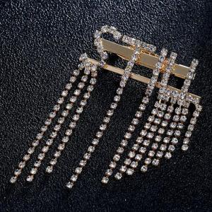 Broches de cristal de diamantes de imitación de moda Jewlery