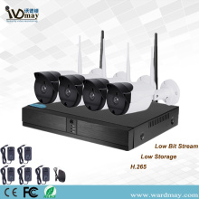Baru 4CH 2.0MP Keamanan Wireless WiFi NVR Kits