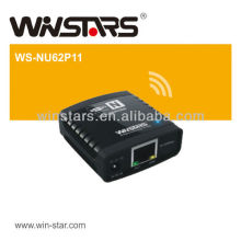 100Mbps USB Networking server, USB2.0 LAN Printer Server with Sharing Server,10Base-T / 100Base-T auto-sensing