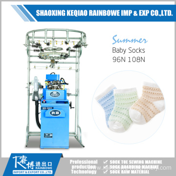 China for China Socks Sewing Machine,Single Cylinder  Knitting Machine Manufacturer Automatic Baby Sock Making Machine export to United States Factories