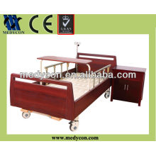 Two crank simple hospital care bed