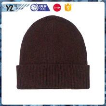 Último producto simple diseño moda señora knit sombrero de China