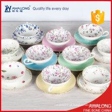 Conjunto de xícara de chá floral / porcelana Tea Set / chá de estilo japonês com preço barato
