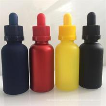 Bouteilles de verre à l'huile essentielle, bouteilles de verre à gouttes, 30 ml