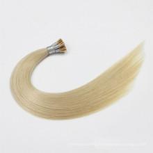 Russie cheveux 100% de cheveux humains kératine je pointe / u pointe / v pointe remy bâton pointe cheveux extensions