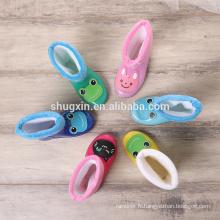 enfants pvc enfants pluie bottes imperméables bottes de pluie