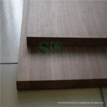 Panel sólido de nogal de alta calidad para la decoración