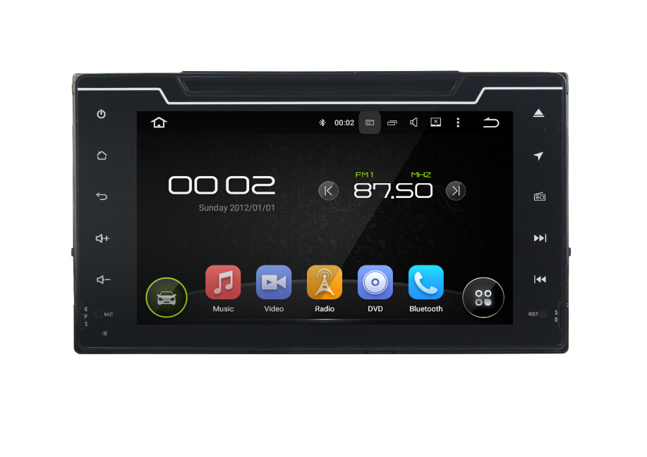Android car audio for Toyota Corolla 2016-2017