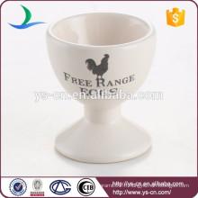 Décalque de poulet fabriqué en Chine Coupe d'oeufs en céramique moderne