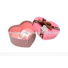 Boîte de cadeau de bonbons de mariage papier personnalisé