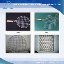 Barbecue Wire Mesh and Crimped Wire Mesh for Roast,