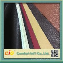 2015 мода новый дизайн высокого качества ПВХ PU синтетическая кожаная ткань Драпирования