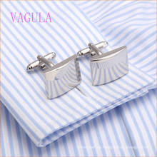 VAGULA 2015 Fashion Silver Plated Smooth Gemelos Copper French Gemelos