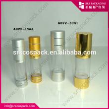 200ml Clear Cosmetic Alu Airless Pump Bottle