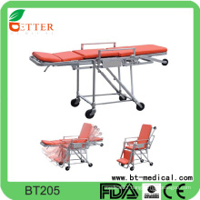 Hot Sale Foldable Ambulance Emergency loading Stretcher
