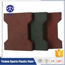 Kindergarten Outdoor Used Safety Rubber Floor Rubber Tile