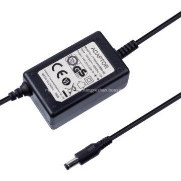 Adaptador de fuente de alimentación de doble línea de 12V 1.5A